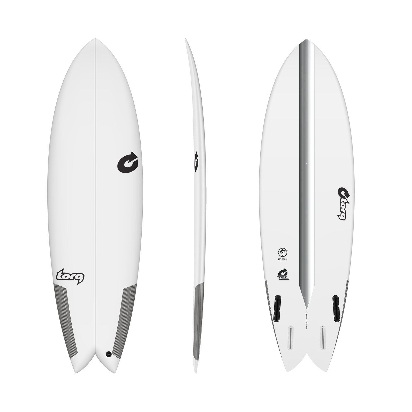 Roam Surfboard Socke Hybrid Fish 6.6 Streifen